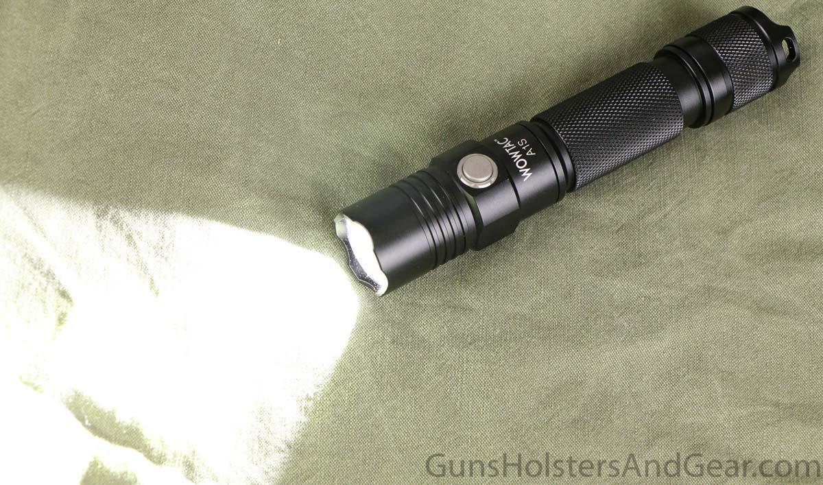 Wowtac A1S beam shot