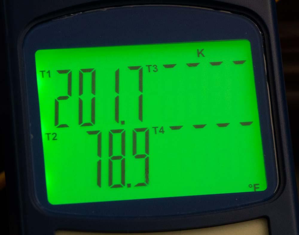 Extreme Temperatures Wowtac A7 Flashlight