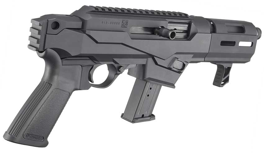 Rear of Ruger PC Charger Pistol
