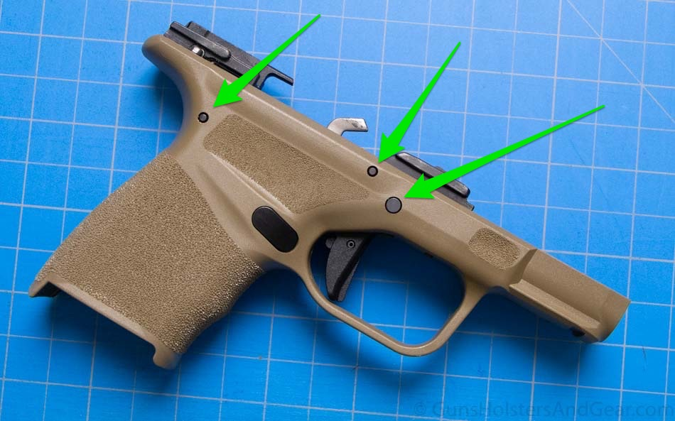 Frame Pins to Remove to Replace Trigger