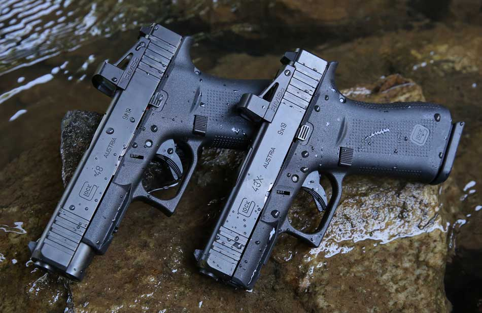 Glock 43X Optics