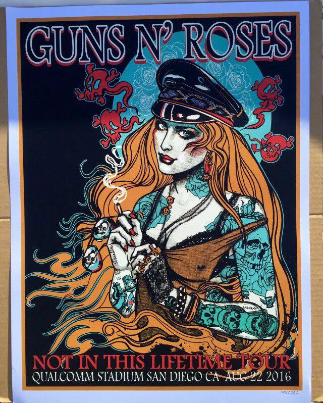 guns n flowers