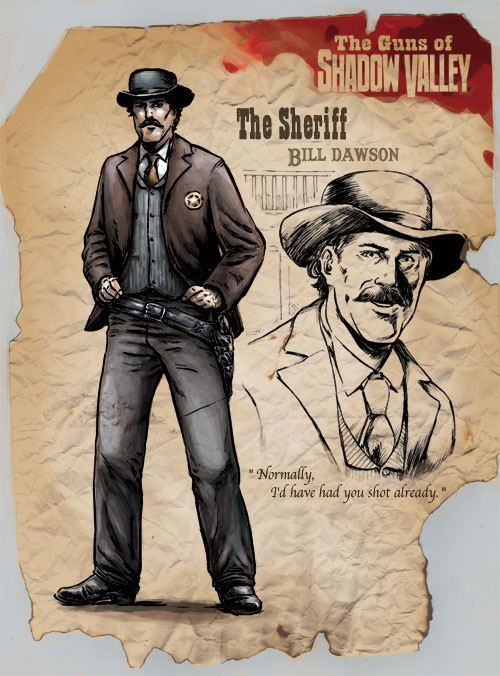 Sheriff Bill Dawson