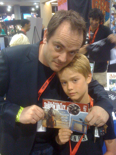 "Mark Sheppard from ""Battlestar Galactica"", ""Firefly"" and ""24"""
