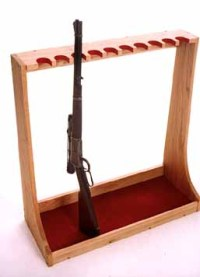 Guide to Get Sporting clays gun rack plans | Project shed