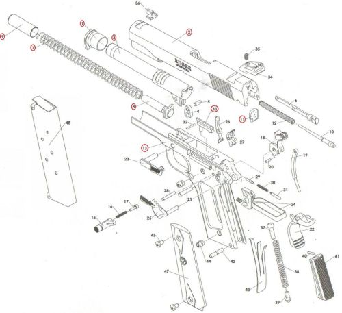 small resolution of p90 exploded diagram wiring diagram and fuse box smith and wesson 22 smith and wesson ar 15