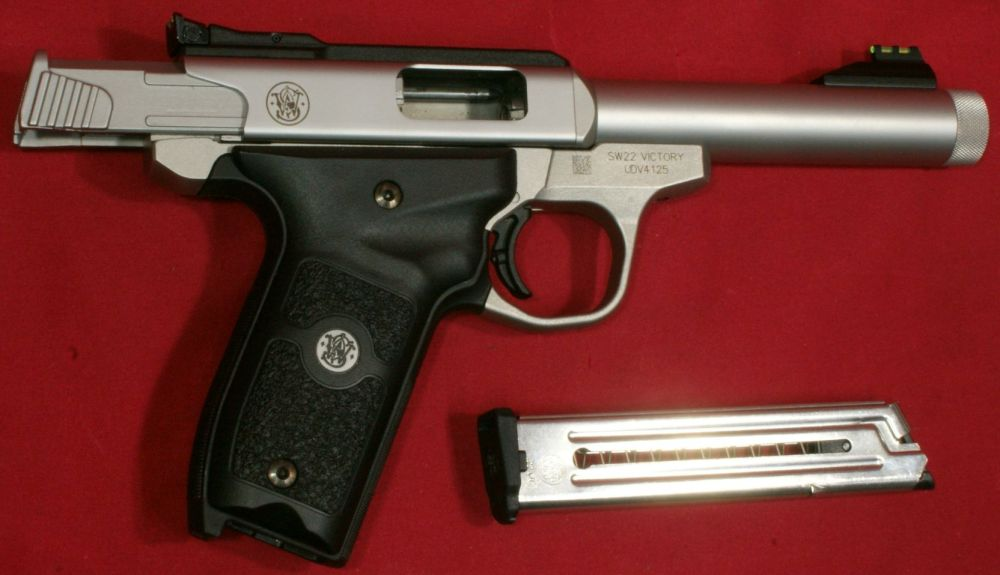 medium resolution of smith wesson sw22 victory pistol review part 4 disassembly internal features