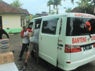 Tim My Esti Wijayati Bantu Korban Bencana di Umbulrejo dan Sawahan Ponjong