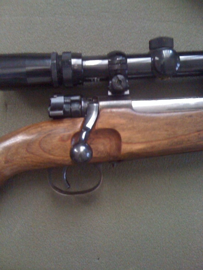 Identification Rifle 7mm Mauser