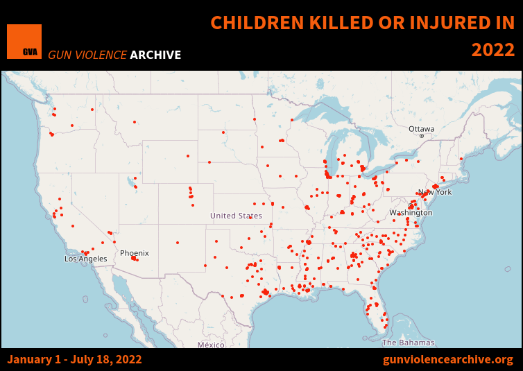 Children Killed or Injured in 2017