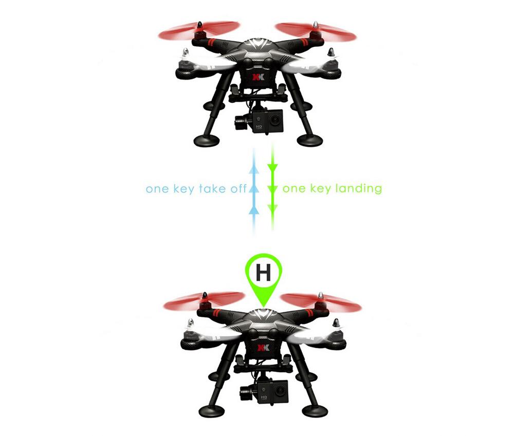 Original XK Detect X380-C 2.4GHz RC Quadcopter RTF Drone