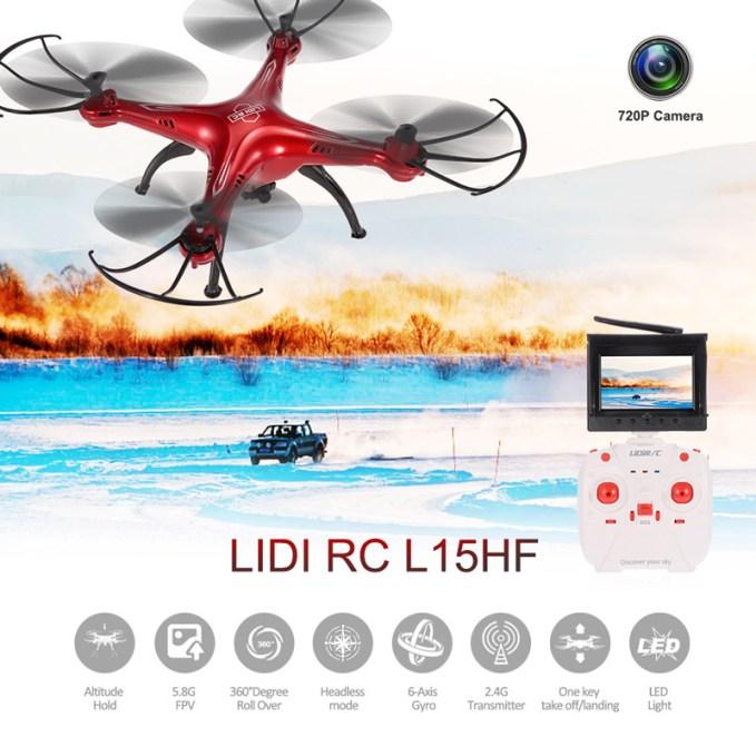 [Geek Alert] Quadcopter LiDi RC L15HF em promoção 1