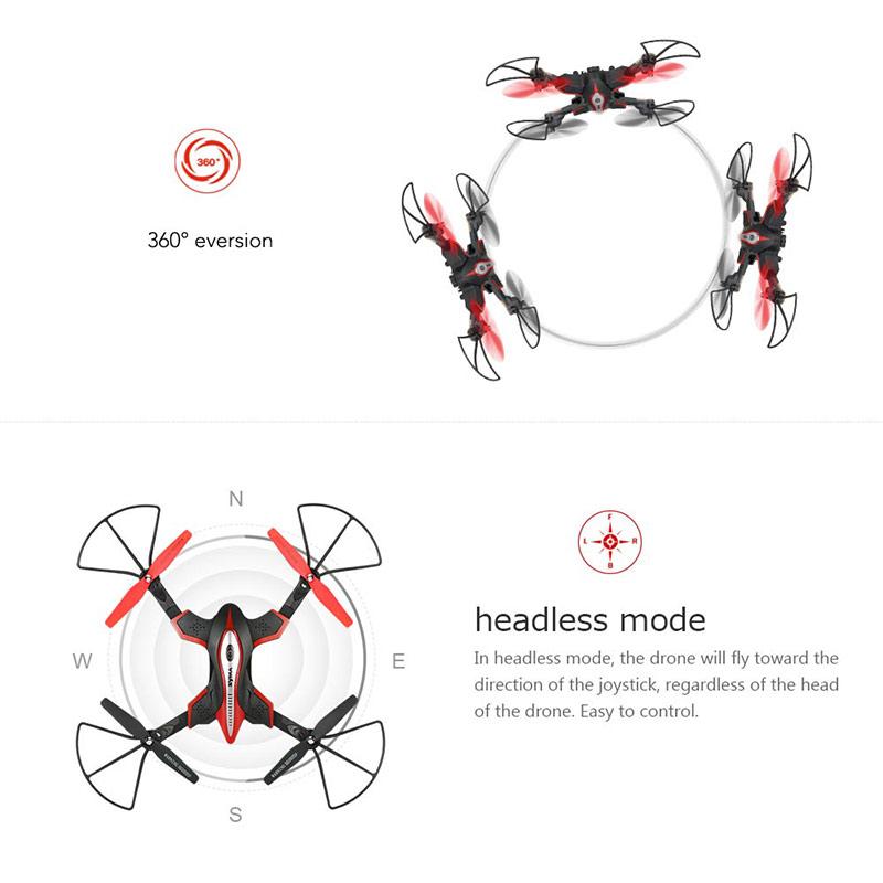 Syma X56W Wifi FPV G-sensor Foldable Drone 2.4G 4CH 6-axis
