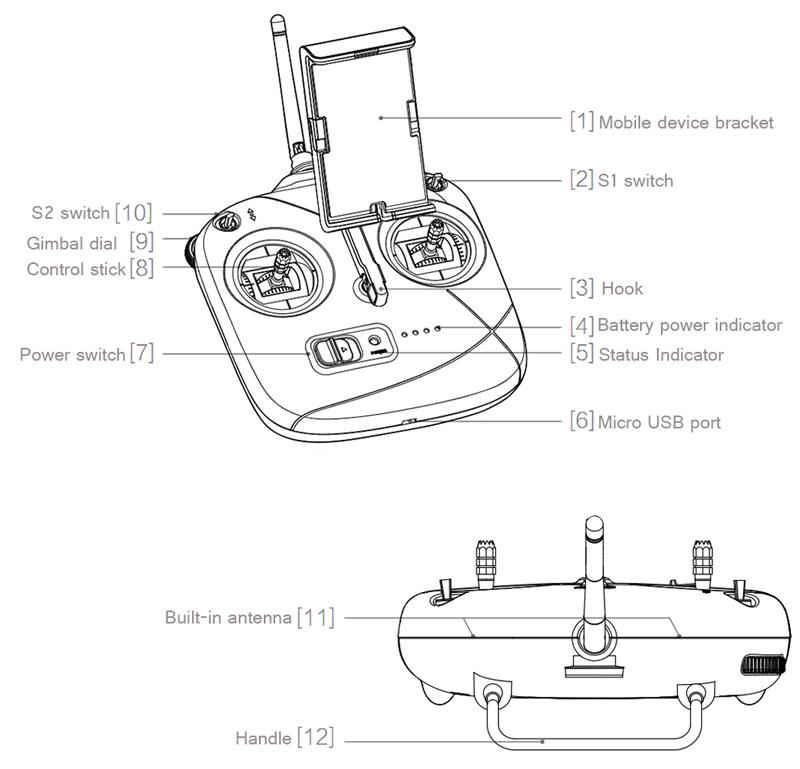 Genuine DJI Phantom 3 SE Wifi FPV 4K UHD Camera Drone 4km