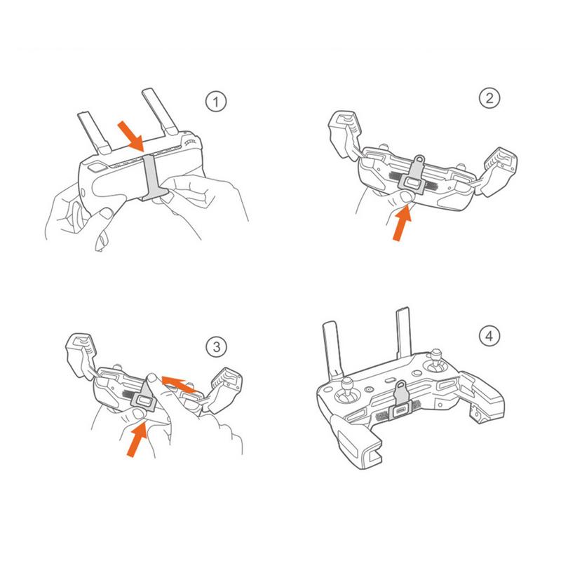 PGYTECH Remote Controller Clasp Adjustable Neck Lanyard