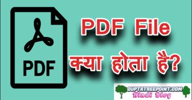 PDF File kya hota hai