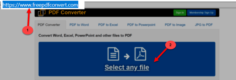 Select any File