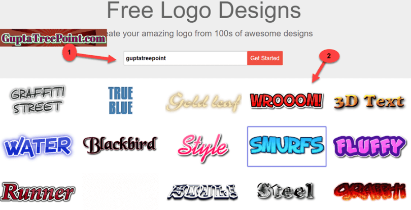 Select any design