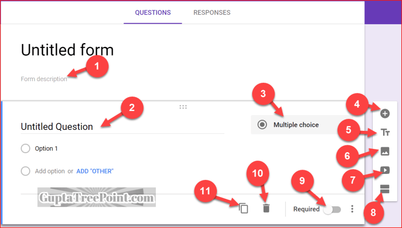 Creating Google Forms