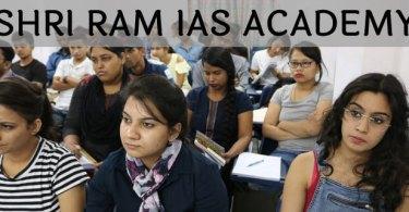 shri ram ias academy Delhi