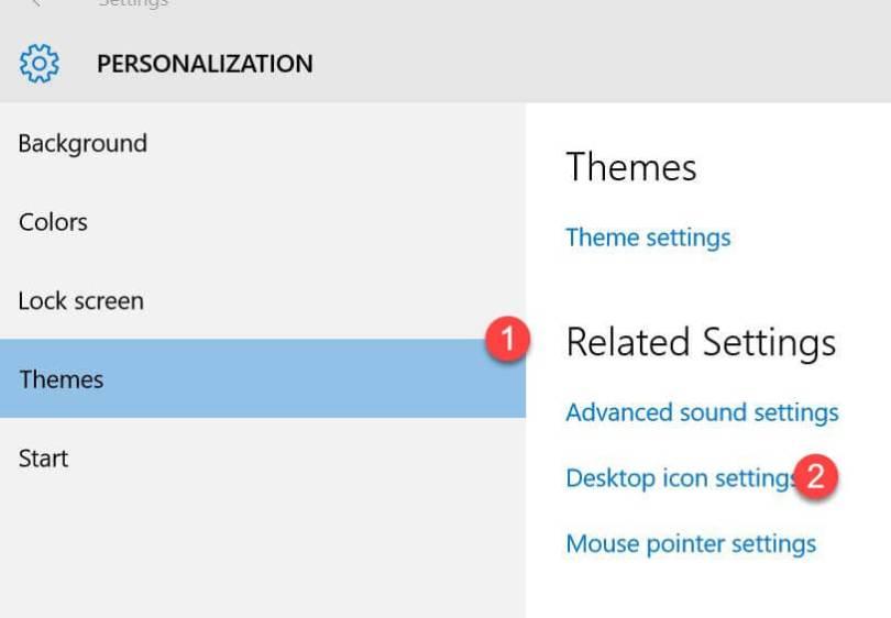 Personalization Windows