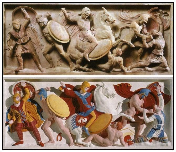 Sarcófago de Alejandro fines s. IV a. C