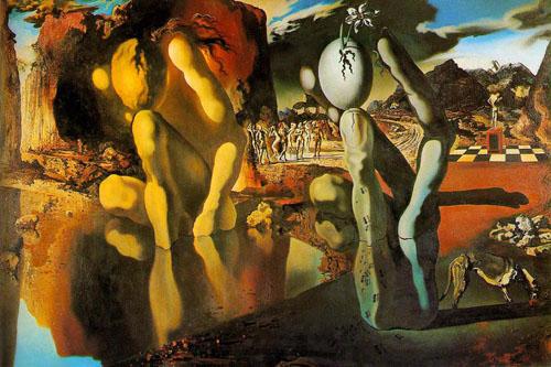 Salvador Dalí Metamorfosis de Narciso, 1937.