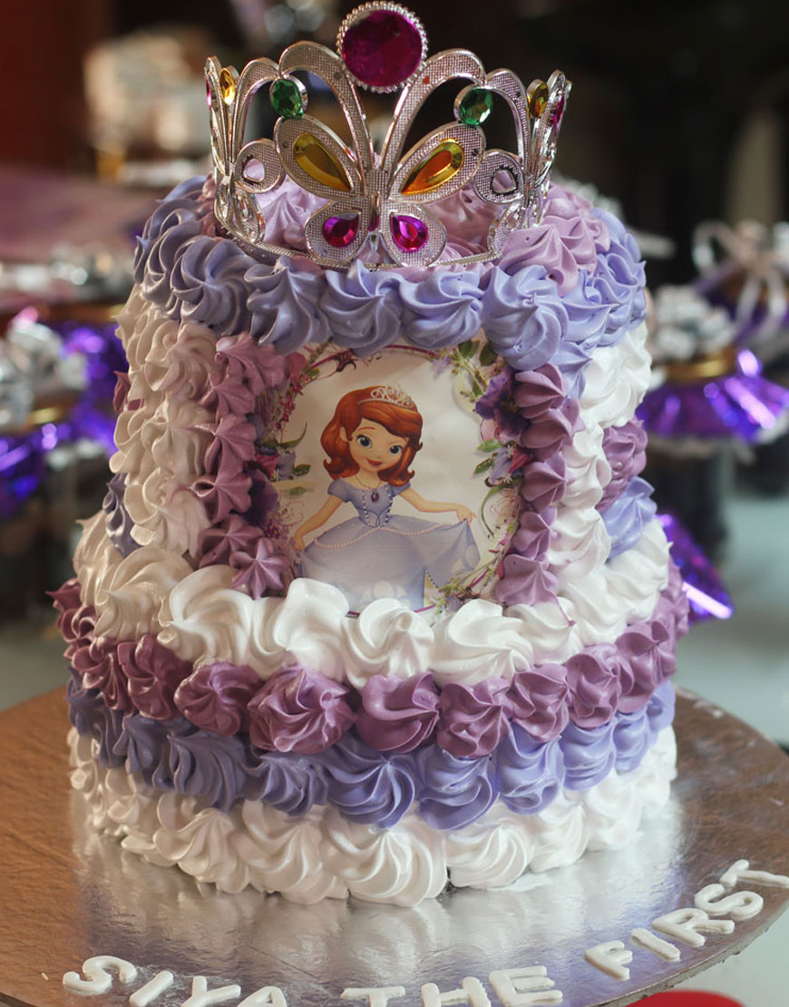 Sofia The First Birthday Cake For Kids Gurgaonbakers
