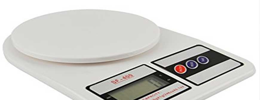 use accurate scales