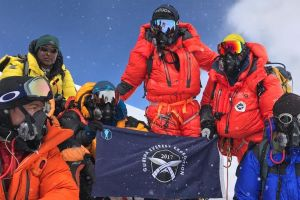 Message from Gurkha Everest Expedition chairman Brigadier Ian Rigden