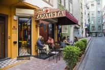 Coffee Zapatista dış mekan
