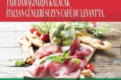Suzy's Cafe du Levant'da Şubat ayında Italyan Günleri