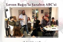 Bordo Şaraphane'de Levon Bağış ile Şarabın ABC'si