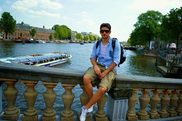 Amsterdam'da yeme içme