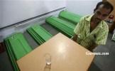 Hindistan'da bulunan bu restoranda müşterilere yemekleri sırasında, içinde ölüler olan tabutlar eşlik ediyor.