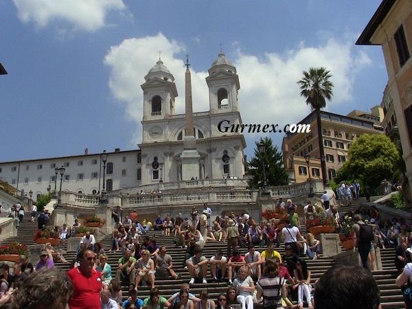 Roma italya ispanyol Merdivenleri