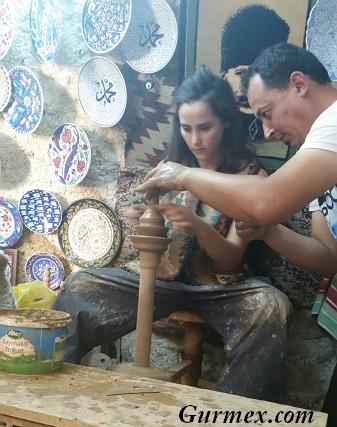 Chez Hakan,Kapadokya Avanos en iyi çömlekçi