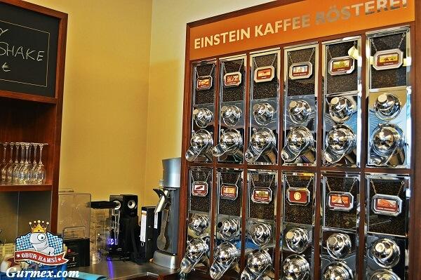Einstein Kaffee Berlin, Almanyada kahve nerede içilir
