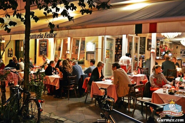Berlin nerede ne yenir,berlin Trattoria Felice italian restaurant