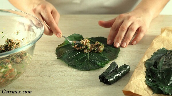 Malatya yemekleri, dut yaprağı sarması