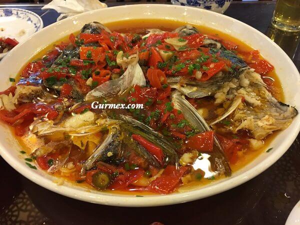 Çin'de bulunan yemekler, Çin yemek isimleri