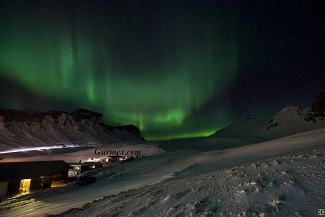 İzlanda kuzey ışıkları, İzlandada nerede kalınır