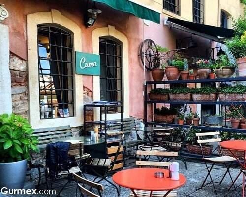 istanbul huzurlu mekanlar Bahçeli kafeler restoranlar