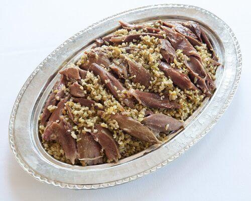 Firik Pilavı - Gaziantep Yemekleri, Antep Mutfağı Pilavlar