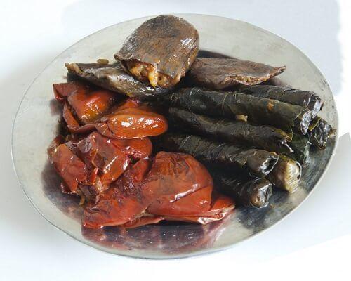 Nakışlı Kuru Dolma - Gaziantep Yemekleri, Antep Mutfağı Dolmalar ve Sarmalar