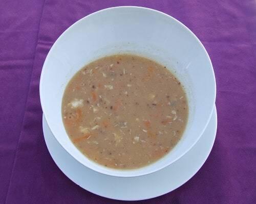 İskorpit çorbası nasıl yapılır, yöresel Çanakkale yemekleri mutfağı blog