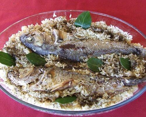 Lüfer pilavı nasıl yapılır, Çanakkale yemekleri mutfağı yöresel lezzetler blog