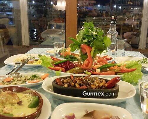 Bozcaada ne yenir, Bozcaada Yeme İçme, Bozcaada'da ne yenir, rakı balık nerede yapılır,Boruzan Restaurant