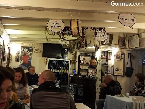 Bozcaada Ahtapot Nerede Yenir, Boruzan Restaurant salaş rakı balık yerleri mekanları Bozcaada