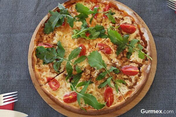 Gümüş Bistro, Bozcaada pizza